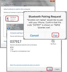Bluetooth Bluetooth Connection From Windows 7 To Iphone