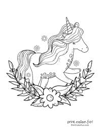 Coloring is a very useful hobby for kids. Top 100 Magical Unicorn Coloring Pages The Ultimate Free Printable Collection Print Color Fun