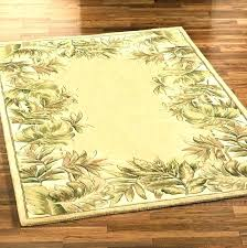 12x14 area rug impressive delectably yours com palm leaves blue tropical beach area rug within tropical