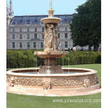 fountains for sale. Antique Sunset Red Marble Water Fountain For Sale Fountains