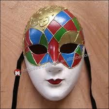 Giant Masquerade Mask Decoration Venetian Full Face Maskhand Draw 100d Venice Decorative Ball Jolly 71