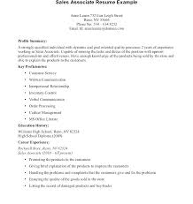 Objective For Sales Associate Resume Jewelry Sales Associate Resume Retail Resume Sample Objective Sales