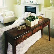 bradley classic long sofa table  vale furnishers