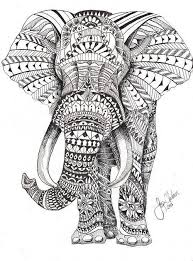 Small Picture Best Ideas of Printable Elephant Mandala Coloring Pages For Your