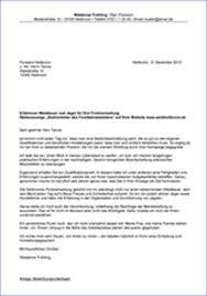 2 Anschreiben Muster Ausbildung Resignation Format