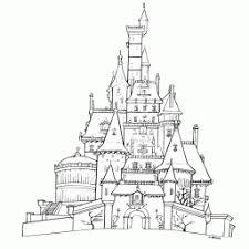 Kleurplaat Belle Castle30 Kleurplaatarchiefnl