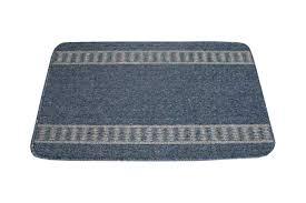 modern anti slip back washable door mat athena