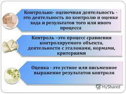 Презентация на тему Активная оценка новая философия  3 Контрольно оценочная деятельность