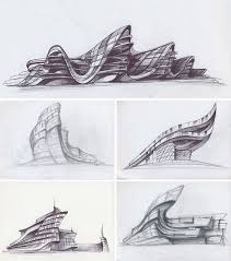 Wonderful Architecture Design Sketches Concept Sketch Gallery Of On Inspiration