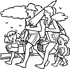 Small Picture Summer Coloring Pages Preschool Summer Beach Coloring Pages