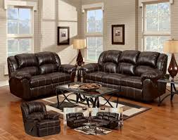 Reclining Living Room Furniture Sets Modern Reclining Sofa Modern Black Leather Reclining Sofa Set