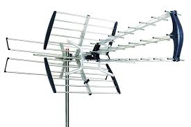 how to set up an hdtv antenna 180 mile hdtv 1080p outdoor amplified hd tv antenna digital uhf vhf fm radio
