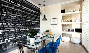 gentle modern home office. Home Office Wallpaper Use To Make A Statement And Inspire You Never Want . Gentle Modern N