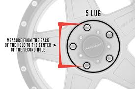 2012 Jeep Wrangler Bolt Pattern