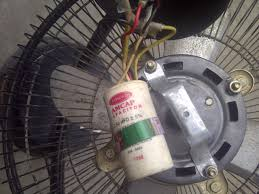 table fan ko ghar par kaise repair kare electroexpert in table fan capacitpr image