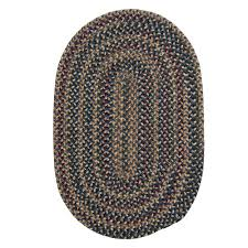 home decorators collection winchester federal blue 5 ft x 7 ft oval braided area