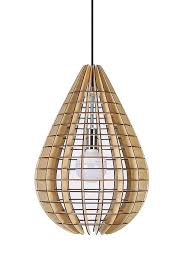 Ontwerper Opknoping Uit Houten Hanger Hout Pendant Lamp Plafond Lamp