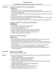 Javascript Resume Senior JavaScript Engineer Resume Samples Velvet Jobs 24