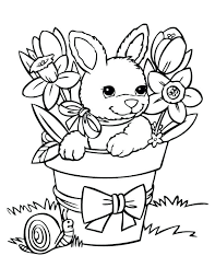 Free Spring Coloring Sheets Coloring Page Of A Tree Budding And