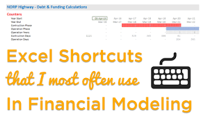 Excel Shortcuts For Financial Modeling Goodly