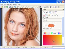 screenshot of makeup guide
