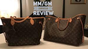 louis vuitton neverfull mm. louis vuitton neverfull mm vs. gm comparison review mm e