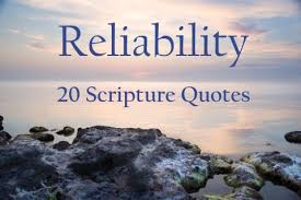 Scripture Quotes Unique Bible Verses About Reliability 48 Scripture Quotes
