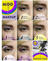 mod makeup tutorial feeling inspired by twiggy the 1960 s look
