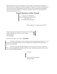Business Letter Format Enclosure Notation New Proper L 2018 Proper