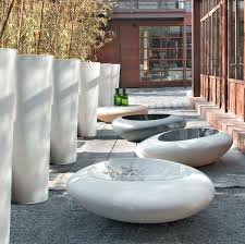 organic design coffee table polyethylene round outdoor kos