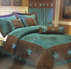 US $138.99 New with tags in Home & Garden, Bedding, Comforters ... & Luxurious 7 Piece Western Star Comforter Set Embroidery Western Star Comforter  Set features western star appliques on a soft tan microfiber suede fabric. Adamdwight.com