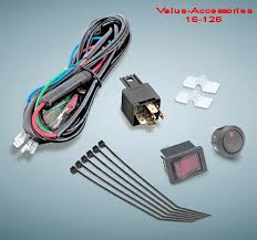 universal wiring and relay kit for controlling motorcycle driving lights copyright 2001 2019 value accessories