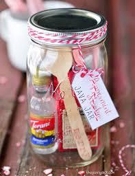 peppermint mocha java jar cute and easy diy gifts in a jar