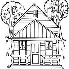 Small Picture Our New House in Houses Coloring Page Color Luna