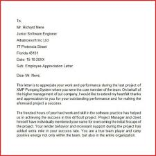 Lovely Appreciate Employee Letter Excuse Education Resume