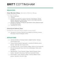 How To List Associate Degree On Resume Megakravmaga Com