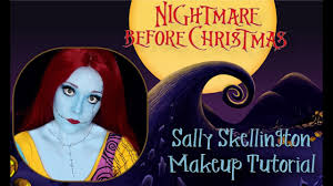 sally skellington the nightmare before makeup tutorial you