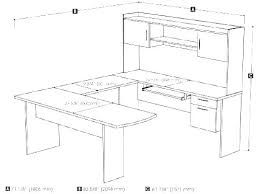 Standard Desk Dimensions Average Sizes Width Pictures To