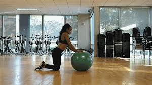 ility ball exercises to burn belly fat