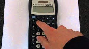 ti 30x iis how to convert decimals to