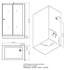 shower stall dimensions excellent standard shower cubicle