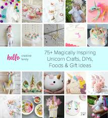 75 magically inspiring unicorn crafts diys foods and gift ideas