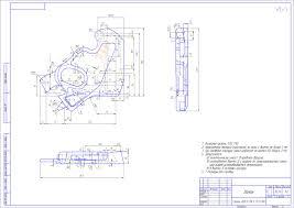 Курсовая работа по дисциплине Производство и ремонт подвижного  чертеж Курсовая работа по дисциплине