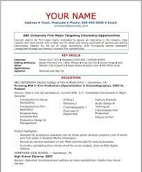 Media Resume Template 31 Free Samples Examples Format Download