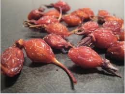 how to use dried rose hips