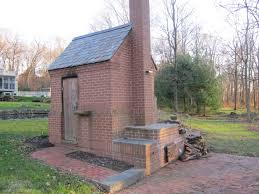 built like a brick smokehouse and an awesome oven too the bbq