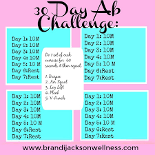 30 Day Ab Challenge Tips For Blasting Belly Fat Get A Flat