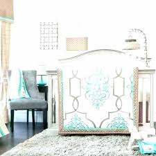 modern crib bedding sets contemporary nursery baby boy room with
