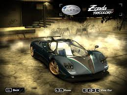 Need For Speed Most Wanted Pagani Zonda Tricolore | NFSCars