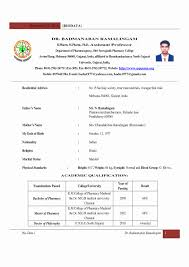 Download Sample Resume For Freshers In Word Format Fresh Fresher